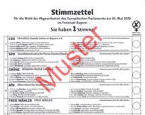 Europawahl 2019 Landratsamt Furstenfeldbruck